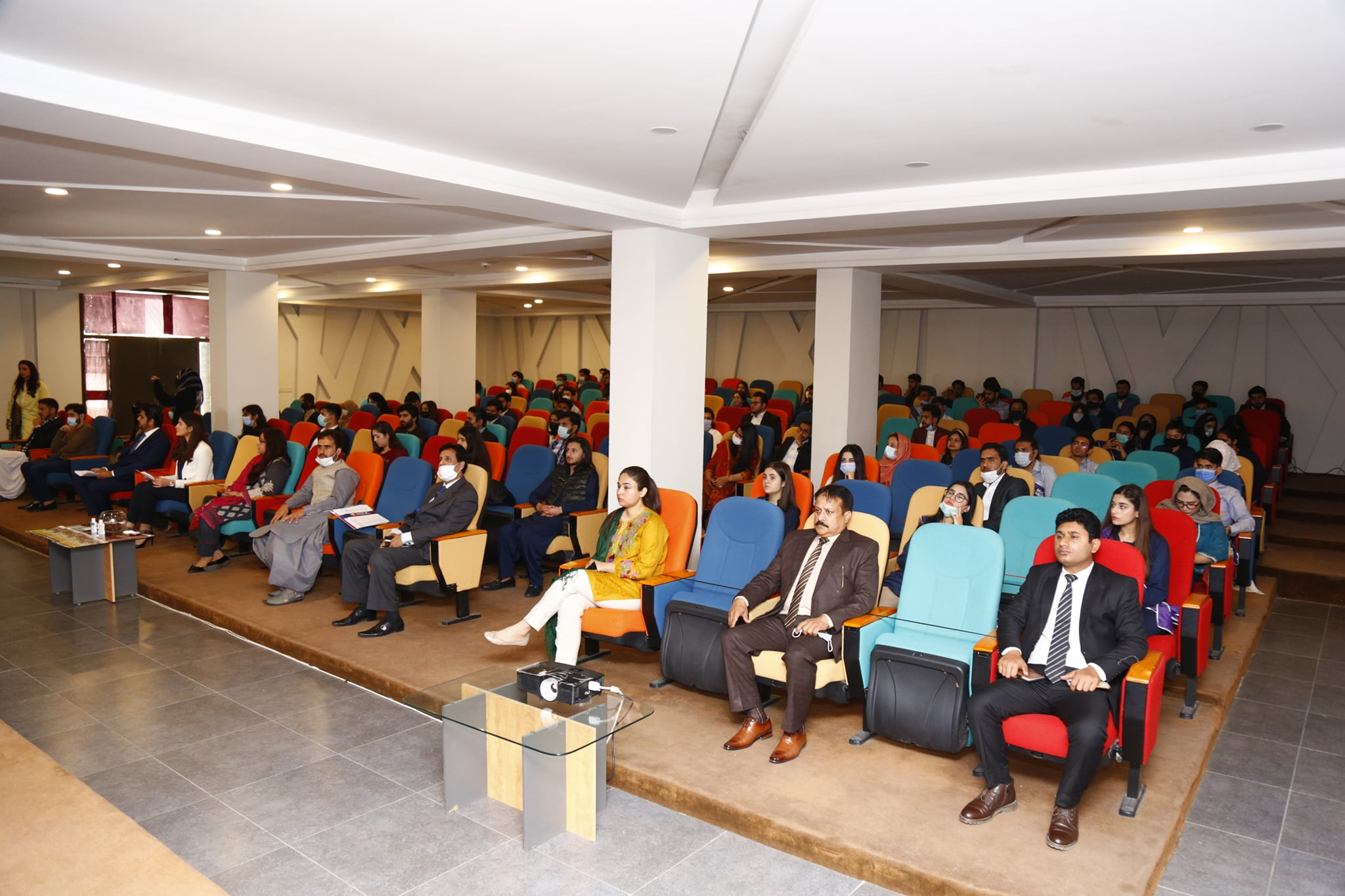 HND students attended Islamabad chamber of commerce's seminar
